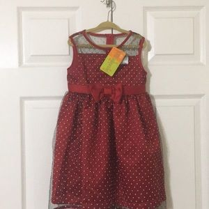 Penelope Mack Dress 4T.  New with Tags